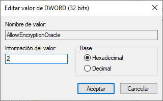AllowEncryptionOracle